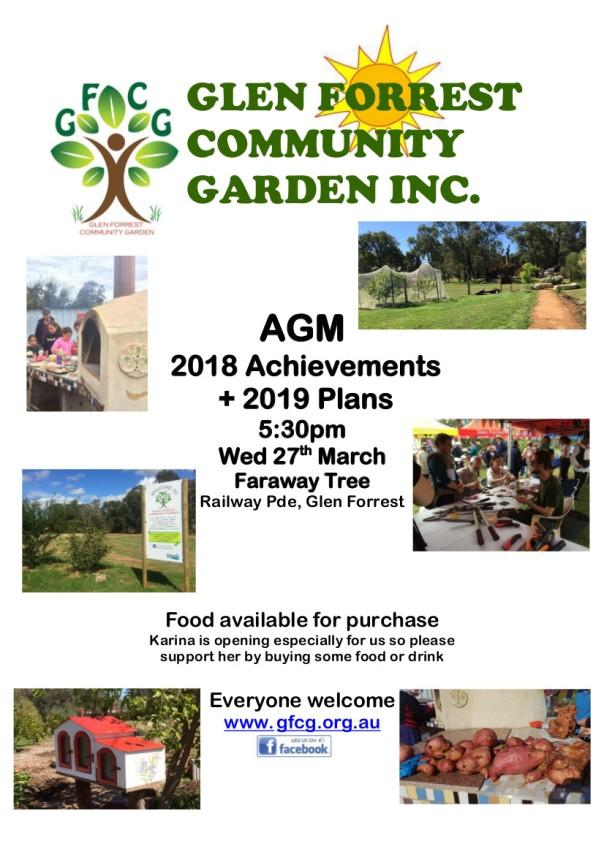 GFCG AGM 2019 Flyer